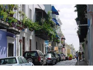 Old San Juan Street View