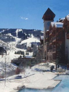 Located near the Arrowbahn lift, providing convenient skier access to Beaver Creek Resort.