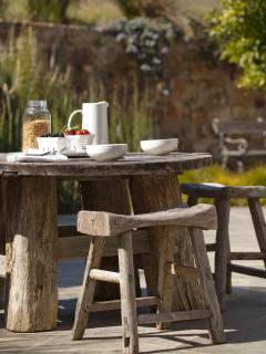 Enjoy breakfast, lunch and dinner on the Zen patio