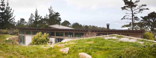 "Ridge-top home offers passive solar for ""green"" heating."