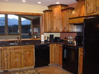 Fully equipped kitchens for preparing and sharing meals.