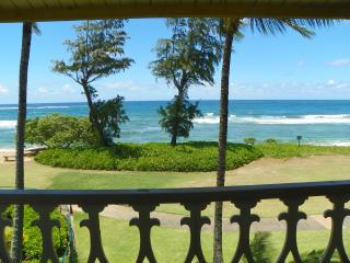 Kauai Kapaa Oceanfront condo view Vacation Rental condo by owner - OCEAN !