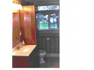 casa de banho no piso principal