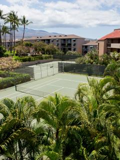 Maui Vista tennis courts