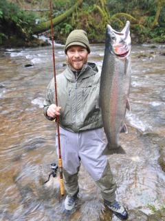 Steelhead run during Jan-February