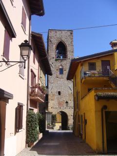 Moniga's charming historic centre