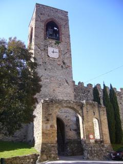 Moniga's medieval castle