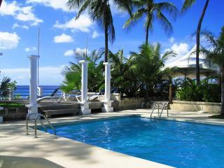 pool overlooking the Caribbean