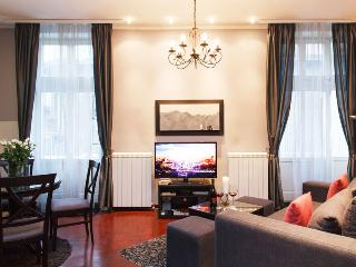 Couple's Getaway ♥ 1 Bedroom Apartment TERAZIJE SQUARE ♥ Balcony City View