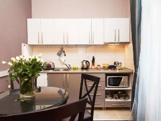 Fully equipped kitchen & Dining table for 4 persons