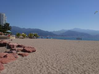 Beach in front of Portofino Resort