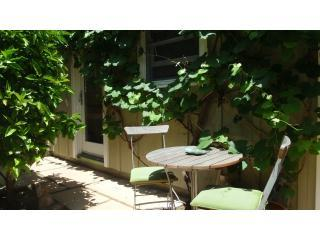 Garden table, Guest Cottage