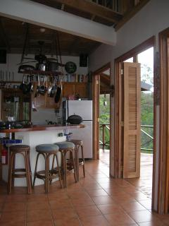 Open-air kitchen