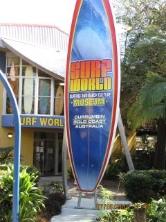 Surf History Museum, 3 mins walk. Ask about learning to surf at Currumbin