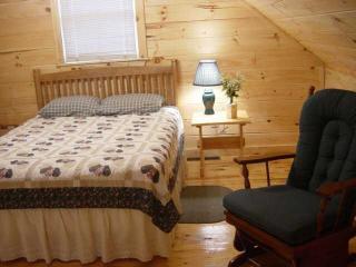 Loft Schlafzimmer mit Queensize-Bett