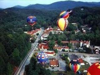 Heiße Luft Balllon Rennen jedes Jahr im Juni