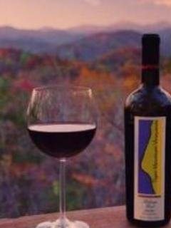 Enjoy the view with a nice bottle of wine