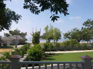 View of gulf from deck