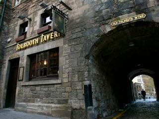 Tolbooth just off Royal Mile - secure parking inc
