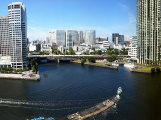 Waterfront Penthouse: Huge Roof Deck & Great Views, Tokyo