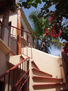 Casita Guest House Stairs to Upper Floor