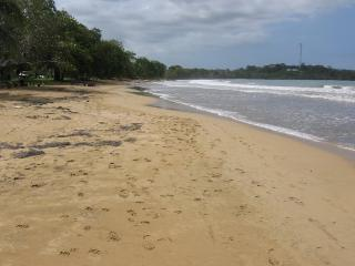 Only steps from your front door to Cabana Beach. Great swimming, shallow, firm bottom sand.