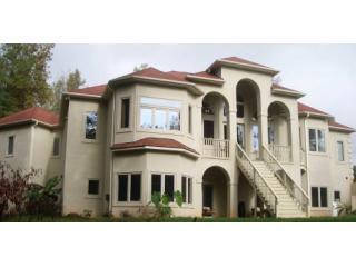 villa exterior rear