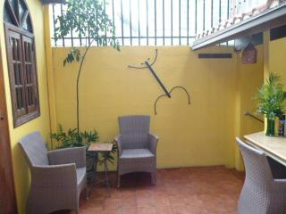 Casita courtyard.