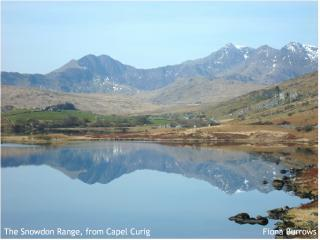 The Snowdon Range from Capel Curig