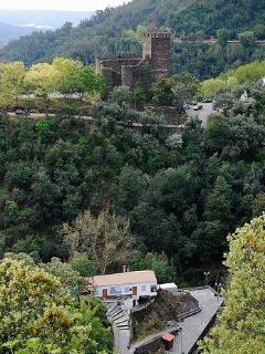 castle above lousa