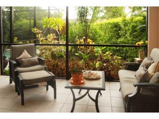 Beautiful Tropical Outdoor Sitting Area