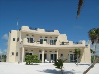 Beach Side View of Yum Botic Villa