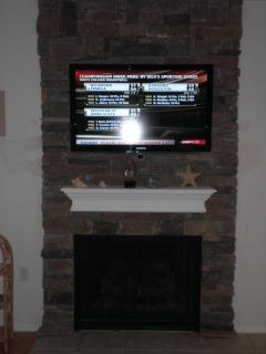 New fireplace/ TV in Family Room