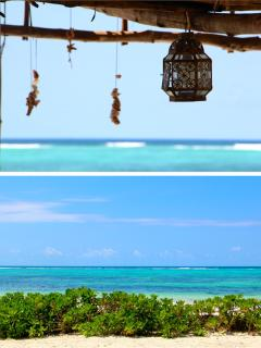 Relaxing Area On Private Beach & View On The Lagoon