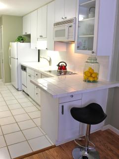 Clean Crisp Complete Kitchen