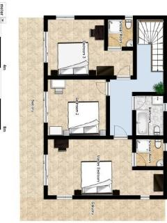 Villa Maya Legian Floor Plan - First Floor
