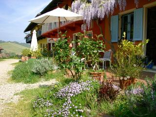 CA MOMPLIN I - FARMHOUSE IN LANGHE AND ROERO ( Pool at Exclusive Country Club)