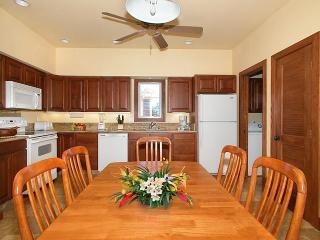 Ahe Lani kitchen has granite countertops