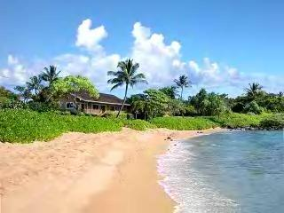 Poipu's Baby Beach is just a 2-3 Minute Walk from Akala Pua.  It has knee deep water and no waves.