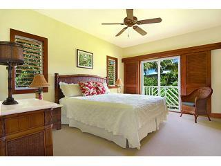 Another view of Pua's West Master Bedroom with King Size Bed