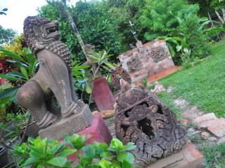 terracotta lions
