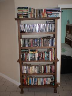 Library and DVD's