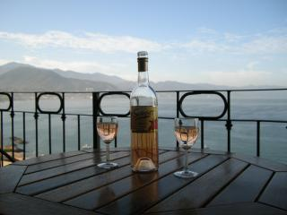 Balcony overlooking Banderas Bay