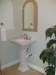 Powder Room Off Game Room
