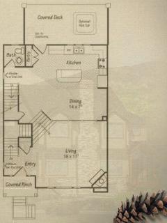 Floor Plan - Main Level