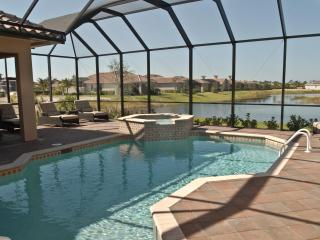 Magnificent Pool and Spa on Southwestern Facing Lake