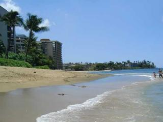 CORNER 1BR RIGHT ON KAHANA BEACH!, Lahaina