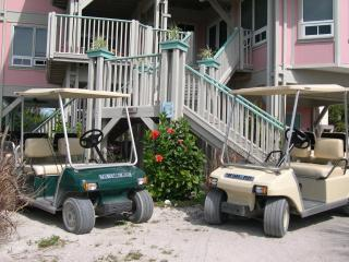 Golf cart included with every rental!