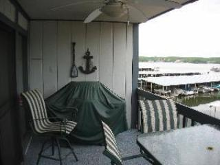 Private deck with fantastic view of the Lake