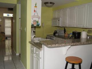 My fully equipped kitchen w/granite counters